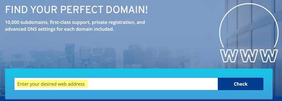 yoga website domain name